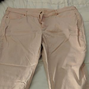 Maurices Pink Skinny Jeans